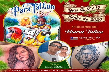 Banner de confirmação do artista no evento. Foto: Divulgação