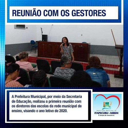 Secretária adjunta, Edileuza Marques no encontro de gestores. Foto: Ascom prefeitura de Itapecuru
