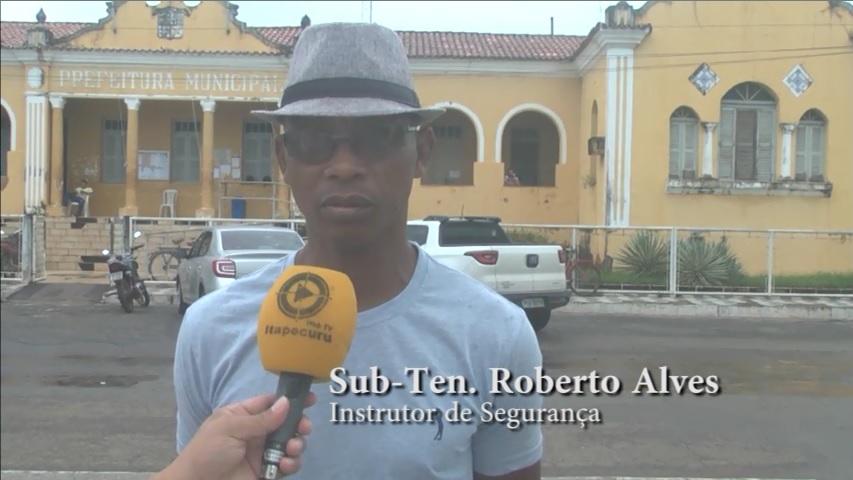 Sub-tenente Roberto Alves. Foto: Reprodução