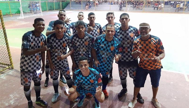 Jogadores do Villa Nova após vitória contra o Grêmio de Barreirinhas. Foto: Divulgação