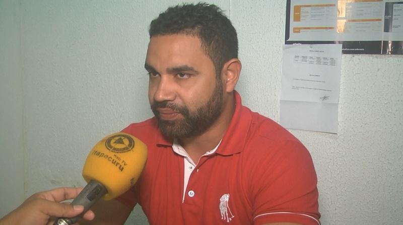 Dr. Emílio Cunegundes, coordenador de imunização da SEMUS Itapeuru. Foto: Itapecuru Webtv