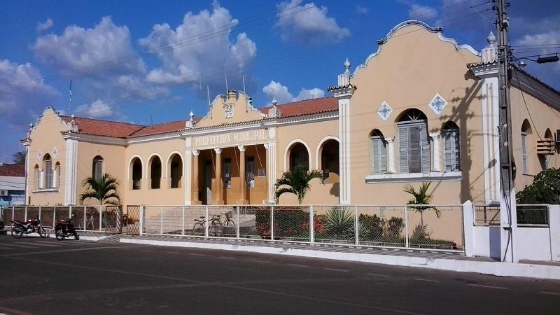 Palácio municipal, sede do poder executivo em Itapecuru. Foto: João Di Bragança.