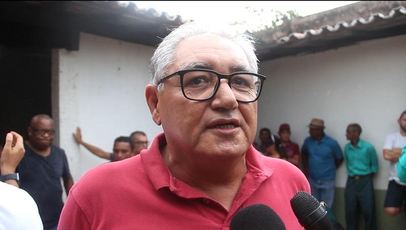 Benedito Coroba no lançamento de sua pré-candidatura a prefeito de Itapecuru 2020. Foto: Reprodução