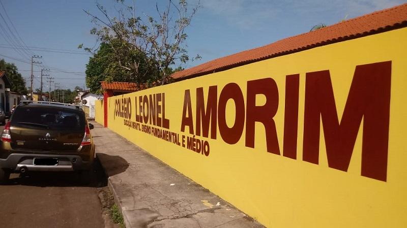Colégio Leonel Amorim, Itapecuru. Foto: João Di Bragança