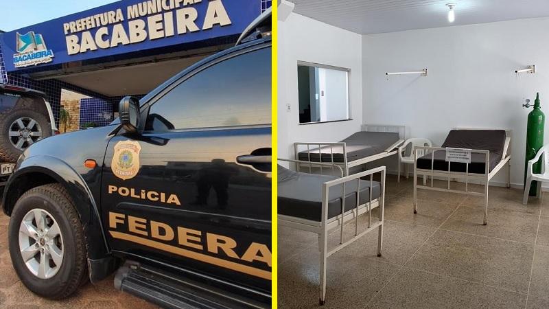 Operação da PF na prefeitura de Bacabeira e hospital em um dos municípios