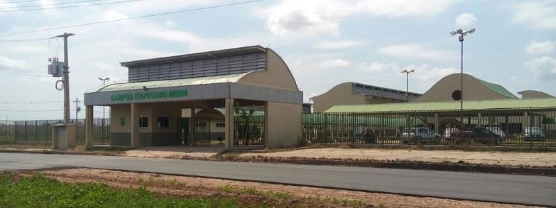 Fachada do IFMA campus Itapecuru Mirim. Foto: Reprodução