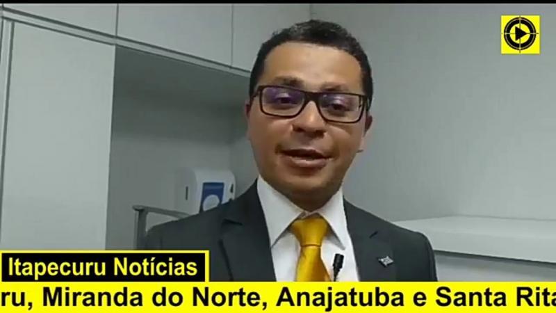 Secretário de Saúde do governo Flávio Dino fala sobre obras em Hospital de Itapecuru